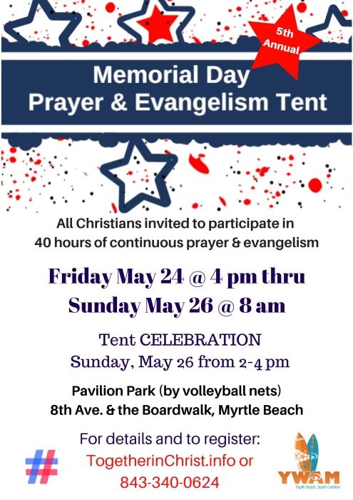 Prayer Tent 2019